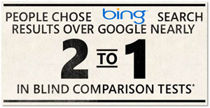 Bing best search engine